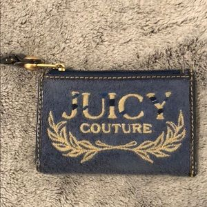 Juicy Couture Terry Cloth Small Card Wallet